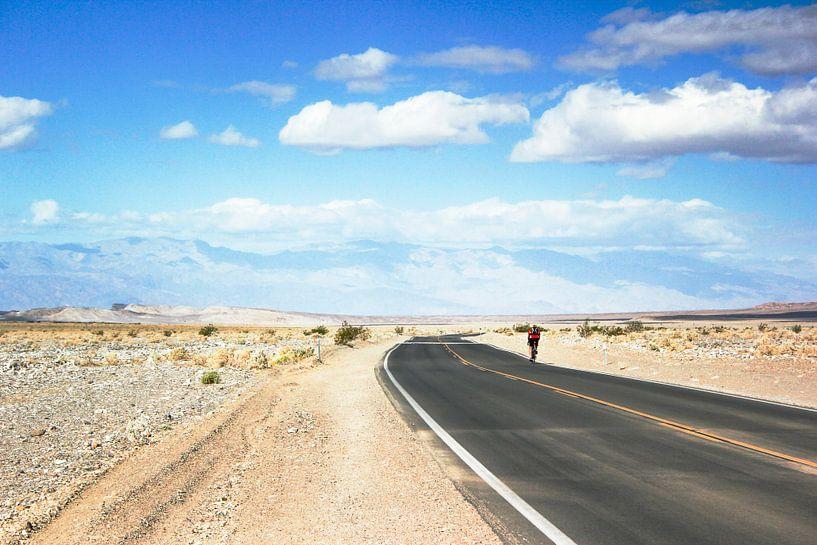 death valley fietser van Erik Koks