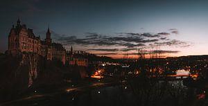Kasteel Sigmaringen bij nacht van MindScape Photography