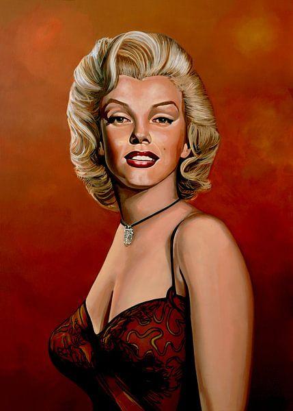 Marilyn Monroe 6 Painting von Paul Meijering