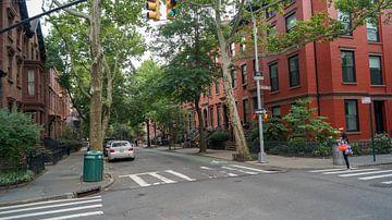eine Straße in Brooklyn New York. von ticus media