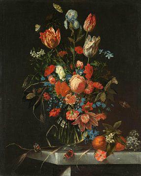 Stillleben mit Blumen, Ottmar Elliger (I) von Meesterlijcke Meesters