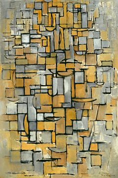 Tableau-Nr. 1, Piet Mondrian