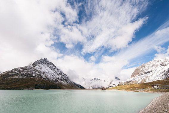 Silvretta hochalpenstrasse in Oostenrijk - 1  van Damien Franscoise