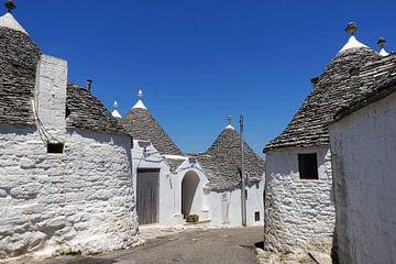Traditionele trulli huisjes in Alberobello, Apulië  van