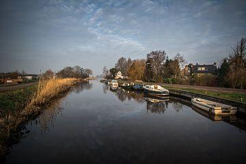 Uitzicht over het water van Marco Bakker