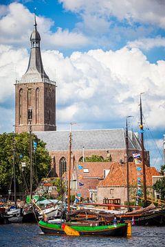 Hassailt in Hasselt (Overijssel) van Karel Pops