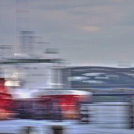 Schiff und Brücken von Marc Heiligenstein