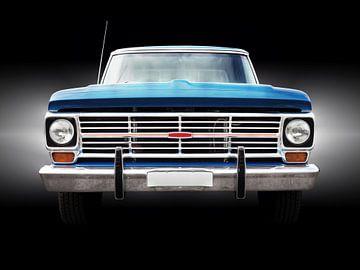 Amerikaanse klassieke auto 1969 F100 Ranger van Beate Gube