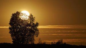 Posbank Sonnenuntergang von Peter Zeedijk