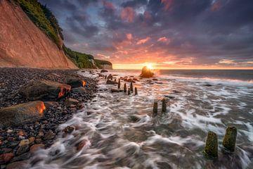 Raw Chalk Coast (Sassnitz / Rugia) van Dirk Wiemer