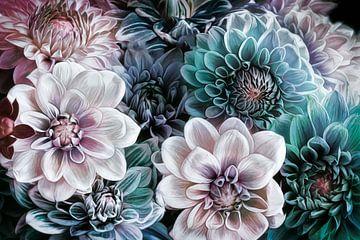 Nieuwe bloem #6 van Lizzy Pe