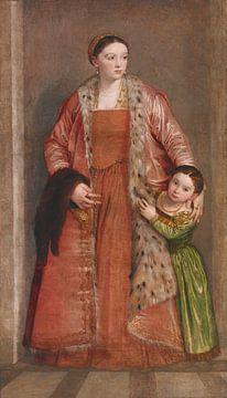 Contessa Livia da Porto Thiene, Paolo Veronese
