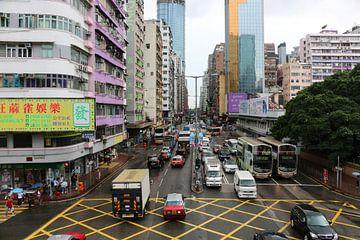 Mongkok - Hong Kong sur Suzette Silvy