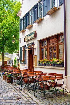 D - Ulm : Small beer garden van Michael Nägele