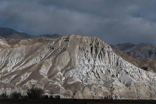 Landschap van de Himalaya in het Tibetaanse koninkrijk Mustang | Nepal