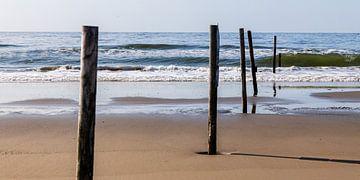 Grenzverlauf am Strand von Christoph Schaible
