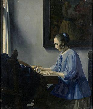 Musiklesende Frau, Han van Meegeren