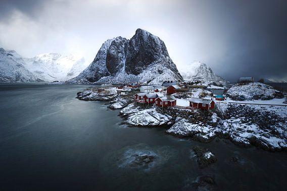 Hamnoy, Lofoten van Sven Broeckx