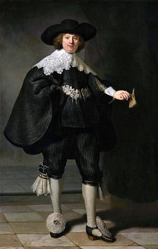 Marten Soolmans von Rembrandt van Rijn
