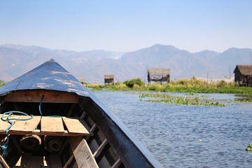 Verkennen van het Inlemeer met de boot van Thijs van den Broek