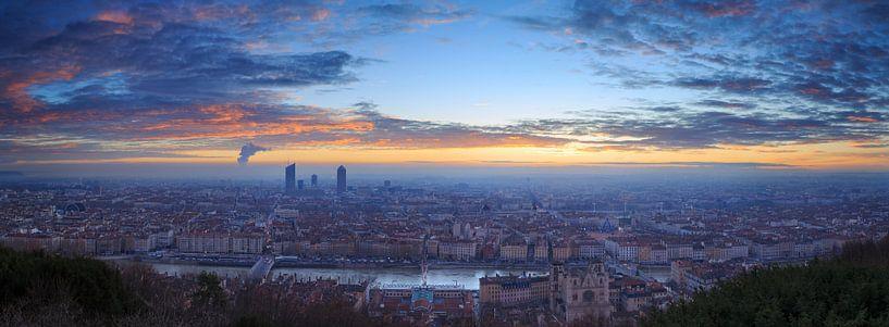 Panorama Lyon van Sander van der Werf