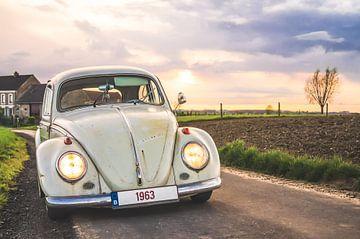 Volkswagen Kever 1963 van Davy Vernaillen