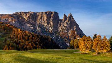 Landschaft der Dolomiten - 4, Italien von Adelheid Smitt