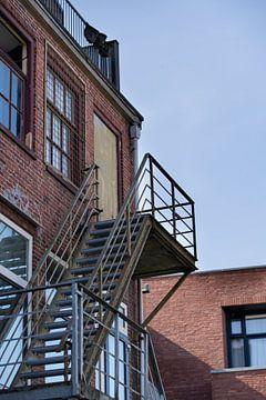 Feuertreppe in Groningen von Foto's uit Groningen
