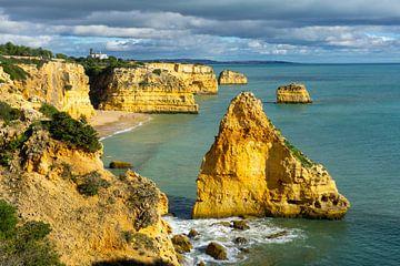 Praia da Marinha: het mooiste strand in de Algarve