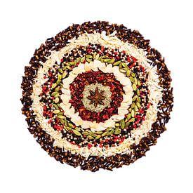 Mandala van Specerijen en Kruiden van Ricardo Bouman   Fotografie