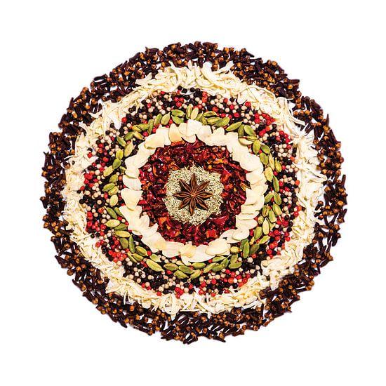 Mandala van Specerijen en Kruiden