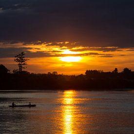 Wundervoller Sonnenuntergang auf Don Det von Levent Weber