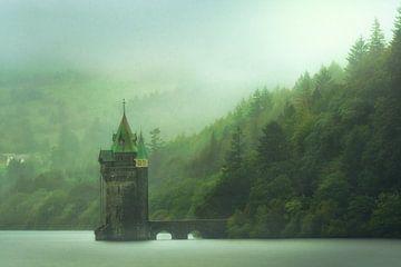 Lake Vyrnwy straining tower van Faeline Creations