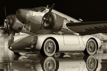 Der Porsche 550 Spyder der ikonischste von Jan Keteleer