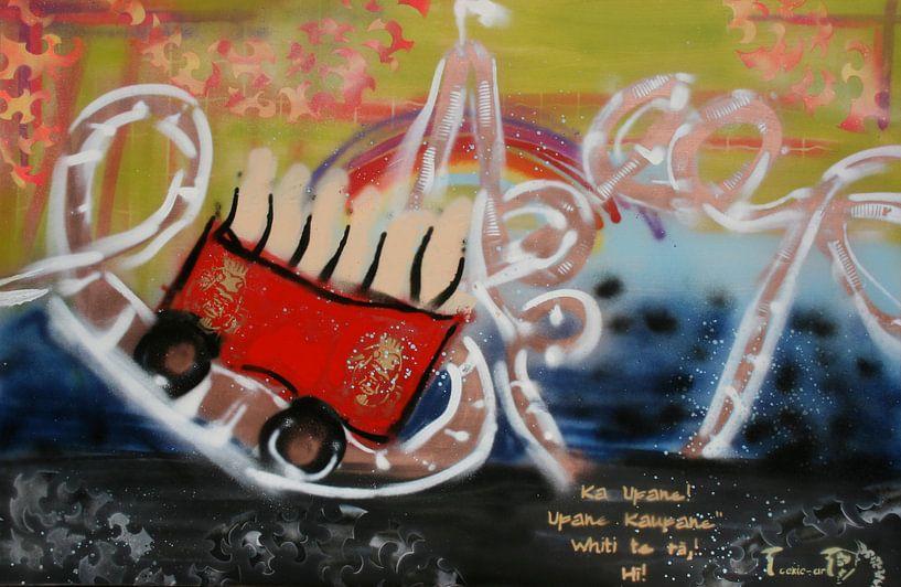 Rollercoaster of my life van Toekie -Art