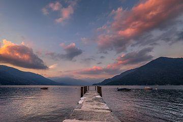 Atmosphärischer Lago Maggiore von Annie Jakobs