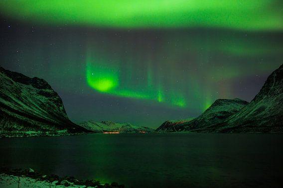 Grøtfjord Norway van Eriks Photoshop by Erik Heuver