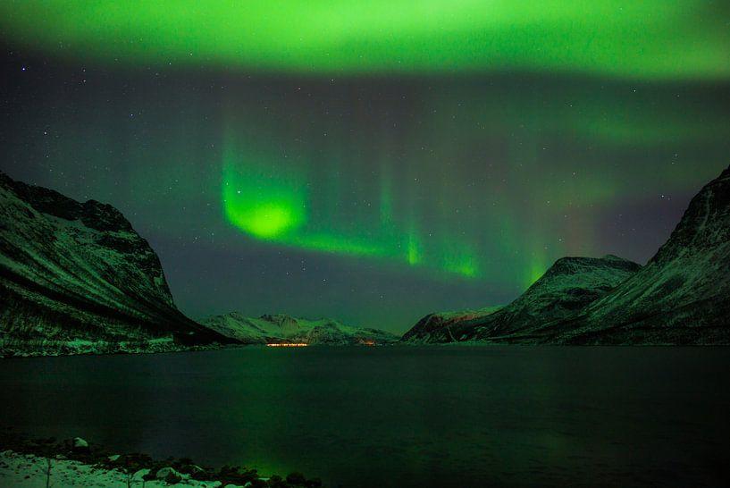 Grøtfjord Norway von Eriks Photoshop by Erik Heuver