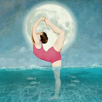 The Zen Sea Tranquility van Marja van den Hurk