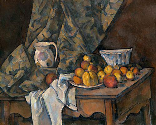 Paul Cézanne. Stilleven Met Appels En Perziken van 1000 Schilderijen