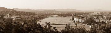Panorama Boedapest von LUNA Fotografie