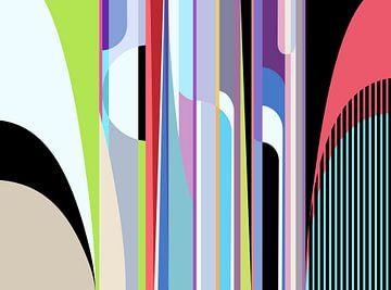 Abstracte samenstelling 870 van Angel Estevez