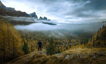Herstkleuren in de Italiaanse Dolomieten van Ramon Stijnen