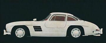 Mercedes 300SL Flügeltürer 1964 von Jan Keteleer