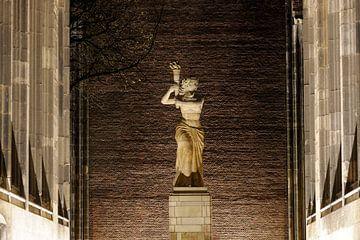 Het verzetsmonument op het Domplein in Utrecht von Donker Utrecht