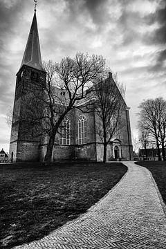 Kirche in Harlingen von Nils Bakker