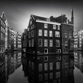 Amsterdam Canal Mirrors van Marco Maljaars