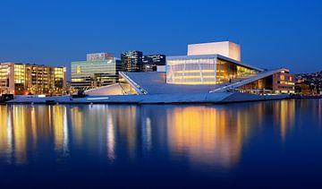 Opera Gebouw in Oslo, Noorwegen van Adelheid Smitt