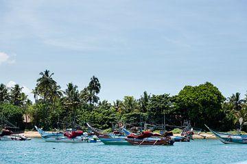 Vissershaven Sri Lanka van Gijs de Kruijf