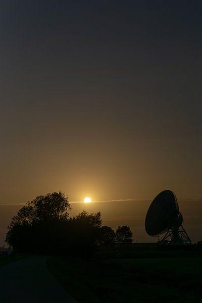 Satelliten-Bodenstation NSO von Anjo ten Kate